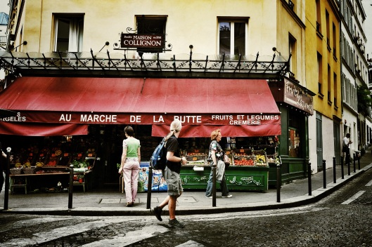 Amelie's green grocer
